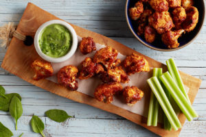 Crispy-Buffalo-Cauliflower-Bites
